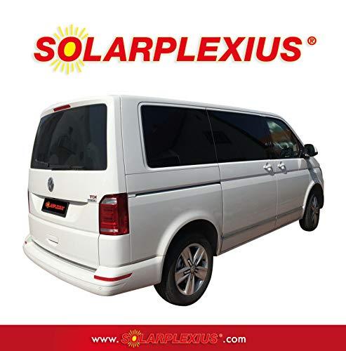 Solarplexius Sonnenschutz Autosonnenschutz Scheibentönung Sonnenschutzfolie Bus T6 Transporter Lang L2 ab Bj. 15