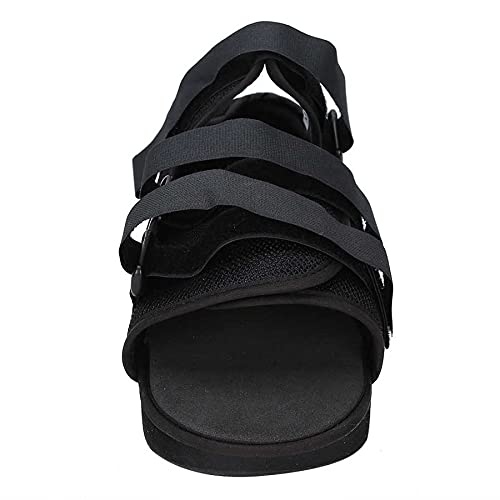 Back Support Therapy Cast Shoes Toe Boot Boot Bood Shoe Protection Foot Boot for Broken Foot Braces Soportes Bunion Férulas Soportes de pie 729 (Color : Black, Size : Large)