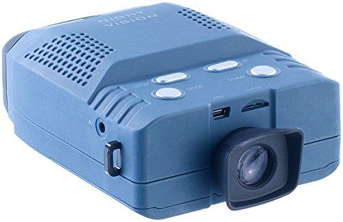 Zavarius Wildkamera: Nachtsichtgerät mit 3X-Vergrößerung, bis 200 m Sicht, microSD-Aufnahme (Fernglas)