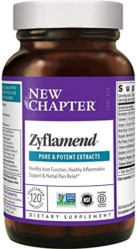 New Chapter Multi Herbal Joint Supplement Zyflamend Whole Body for Healthy Inflammation Response product image