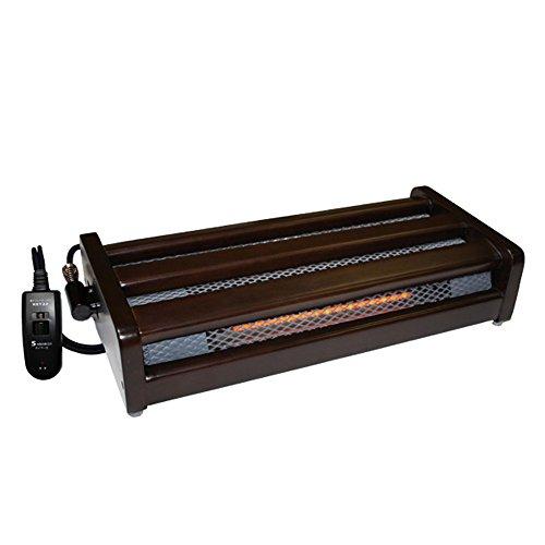 メトロ『木枠フットヒーター手元電子コントローラー式(MFH181ET)』