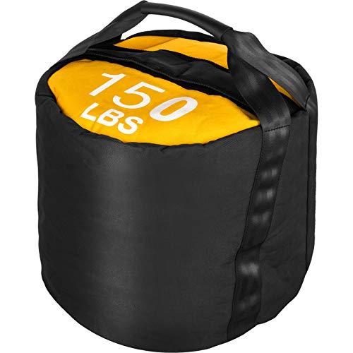 VEVOR 68KG Sandsäcke Fitness Sandsack Training Sandsäcke Fitness Taschen Sandsäcke(Schwarz Gelb)