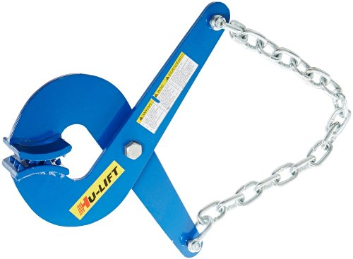 Single Pack 5000 lbs Capacity Vestil PAL-12 Steel Single Scissor Pallet Puller 7 Opening x 2-3//4 Height Jaw