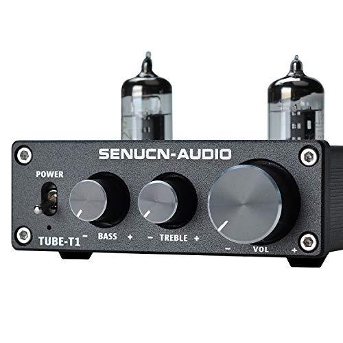 SENUCN-AUDIO Tube-T1 Preamplifier, 6J1 Vacuum Tube Amplifier Buffer Mini...