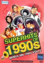 Superhits Of 1990s Vol. 2 (Bollywood Hit Music Videos Of The 90s/Hindi Film Songs Compilation DVD) [DVD] by Various