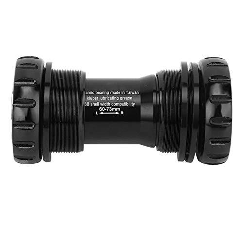 FOLOSAFENAR Soporte Inferior de instalación Conveniente(Ceramic Bottom Bracket-Threaded-Black)