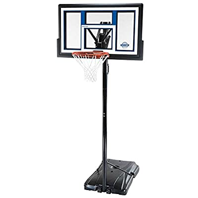 1525 Lifetime 50in Backboard Courtside Portable Basketball System Made in USA
