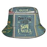 Sexy Pinup Girls Unisex Fisherman Cap UV Protección Solar Verano al Aire Libre Imprimir Bucket Hat...