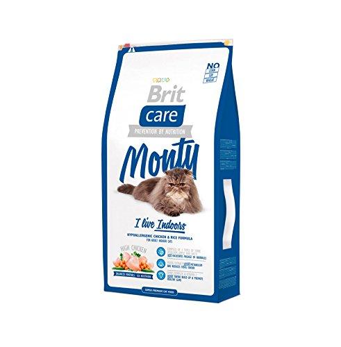 Brit Care Cat Monty I'm Living Indoor, 1er Pack (1 x 7 kg)