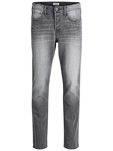 JACK & JONES Herren Slim Jeans Jjitim Jjoriginal CR 010, Grau (Grey Denim),W34/L34