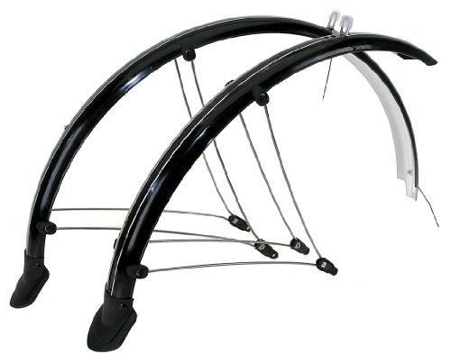 Orident Fahrrad Schutzblech Set 28 Zoll mit Kontaktsteifen