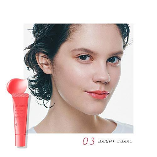 エテュセ(Ettusais)リップエディション(グロス)アクティブスタイル03ブライトコーラルリップグロス唇用美容液SPF35・PA+++10g