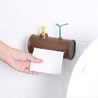 حامل ورق المرحاض، حامل ورق المرحاض، حامل ورق المرحاض، حامل للتعليق على الجدار، خطاف لاصق، كيس القمامة، منظمة تخزين المنادي...