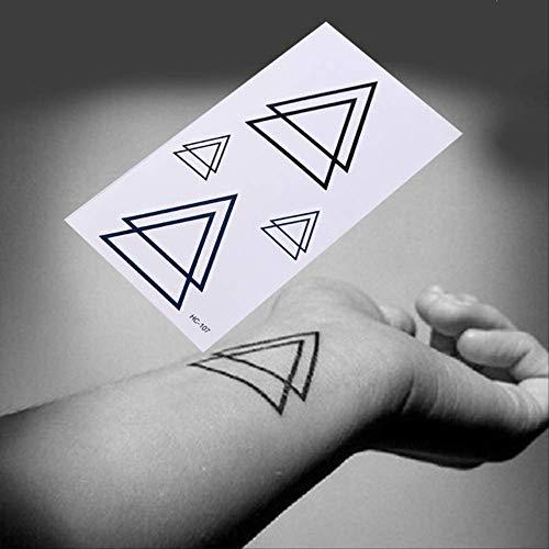 ZPF Tatuaje Tatuaje temporal negro tatuajes de arte corporal tatuajes...
