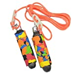 HIRNOTS Skipping Rope with Length Adjustable for Kids, Girls, Women, Men for Exercise, Workout, Training and Weight Loss
