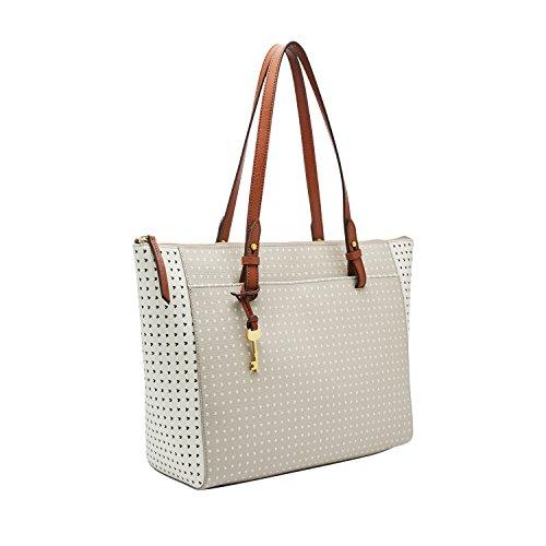 Fossil Women's Rachel PVC Tote Handbag, Hearts