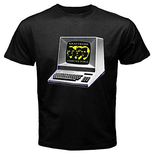 Kraftwerk Computer World Electro Rock Band Men's Fashion Graphic Tee T-Shirt