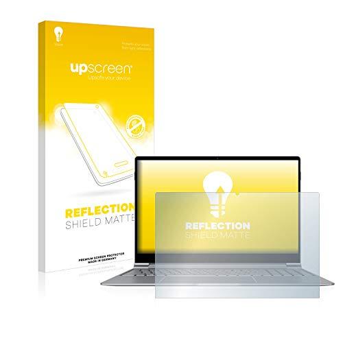 upscreen Entspiegelungs-Schutzfolie kompatibel mit TrekStor Primebook P15 – Anti-Reflex Bildschirmschutz-Folie Matt