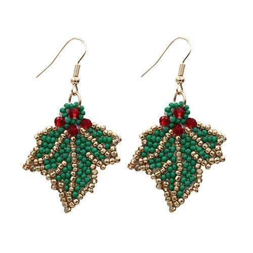 Fineday Women Christmas Hook Drop Dangle Earring Charm Eardrop Jewelry Xmas Party, Earrings, Jewelry & Watches (B)