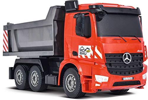RC Auto kaufen Baufahrzeug Bild 2: Carson Modellsport Muldenkipper 1:26 RC Einsteiger Funktionsmodell Baufahrzeug inkl. Akku, Ladegerä*