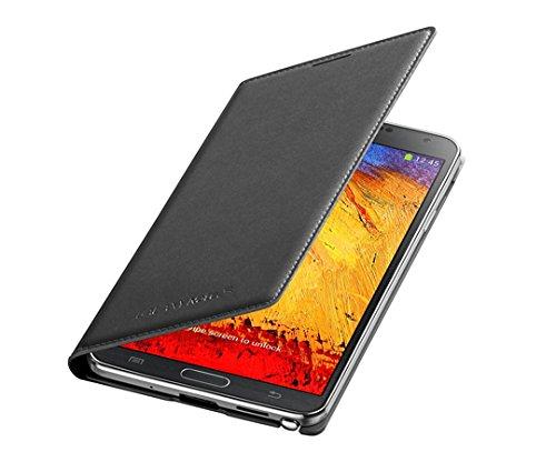Samsung Custodia a Flip per Galaxy Note 3 Neo, Nero