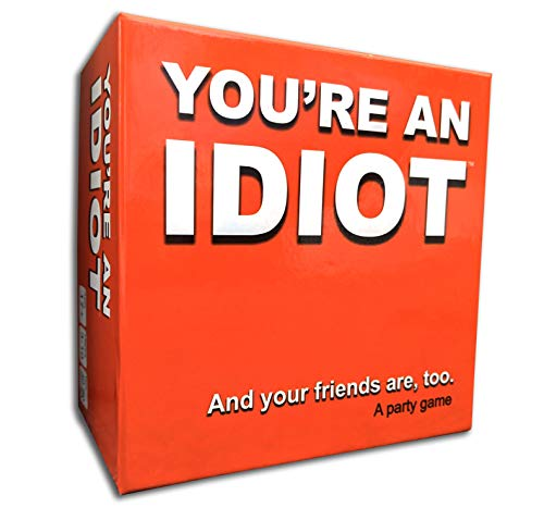 You're An Idiot - a New Spin on The Mature Party Game by TwoPointOh Games