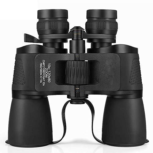 Hochauflösendes Fernglas Wasserdichtes 10-120X80 Weitwinkel-Fernglas für professionelle Nachtsicht mit Zoom für Vogelbeobachtungsreisen Jagdkonzertsafari