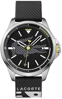 82e7fa8fd Relógio Lacoste Masculino Borracha Preta - 2010941