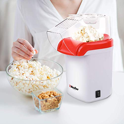 Product Image 2: Mueller Ultra Pop, Hot Air Popcorn Popper, Electric Pop Corn Maker, Healthy and Quick Snack, No Oil Needed with Measuring/Butter Cup