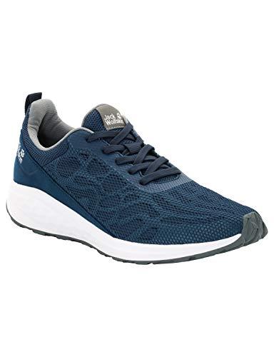Jack Wolfskin Herren Coogee Chill Low Sneaker, Blau (Poseidon Blue 1134), 42 EU