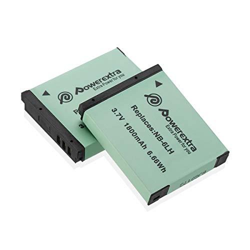 Cámara batería batería de repuesto para Canon nb-12l PowerShot g1 X Mark II