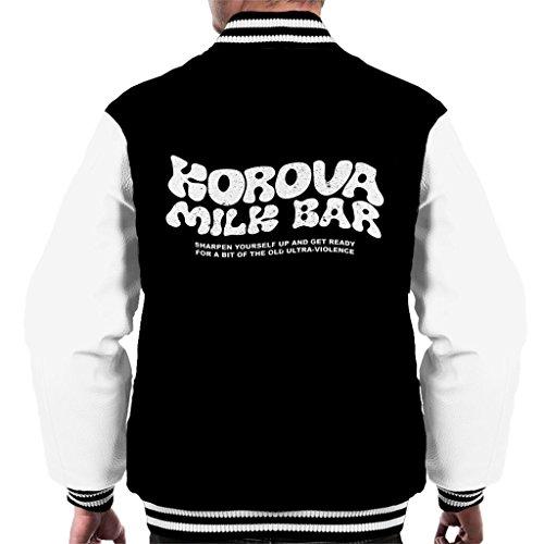 A Clockwork Orange Korova Milk Bar Logo Men's Varsity Jacket