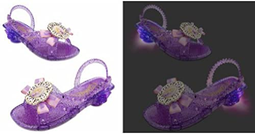 Disney Store Tangled Rapunzel lumière Up chaussures Taille 11 12 by Disney