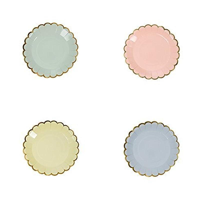 Meri Meri Pastel Colors Canape Paper Plates
