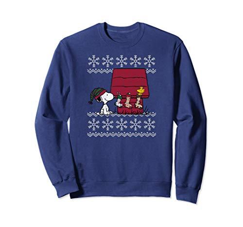 Peanuts Weihnachten Snoopy Strümpfe Sweatshirt