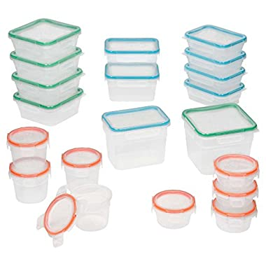 Snapware 40-Piece Total Solution Food Storage Set, Plastic