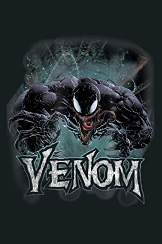 Marvel Venom From Down Under Face To Face: Notebook Planner -6x9 inch Daily Planner Journal, To Do List...