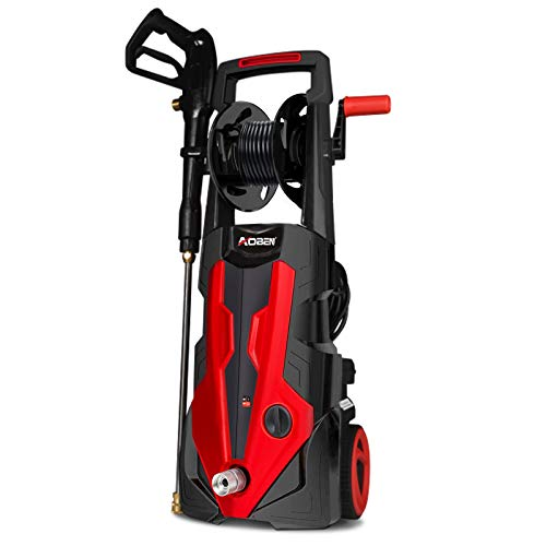AOBEN Electric Pressure Washer, 3500 PSI 1.85 GPM Power Washer with Unique Linear Pump Designed and High Performance Motor Form a Professional Car Washer Cleaner Machine 1980W
