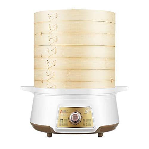 Bamboo Steamer Cooking Fluid électrorhéologique Multi-fonction Mise hors tension automatique Cuisson à la vapeur avec batterie de cuisine (Taille : 2 layers)