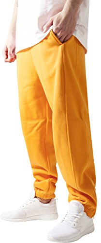 Urban Classics TB014B Herren Sweatpants, orange, M