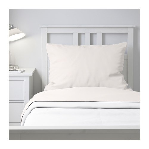 Ikea Puderviva Sheet Set White 103.985.18 Size: Full/ Double