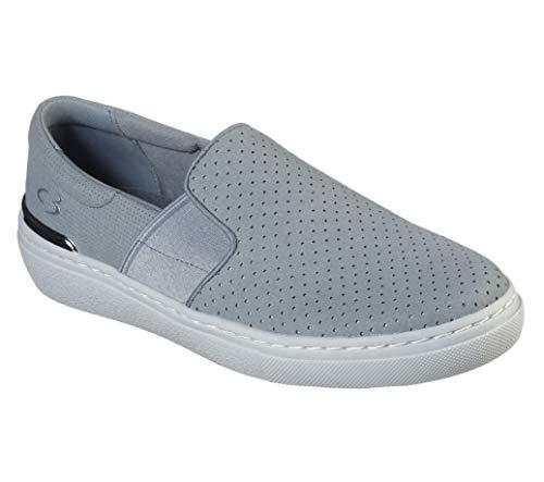 Concept 3 by Skechers Women's Taking Control Slip-on Sneaker, Grey, 8 Medium US