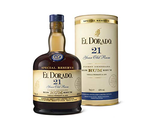 El Dorado El Dorado 21 Years Old Finest Demerara Rum Special Reserve 43% Vol. 0,7L In Giftbox - 700 ml