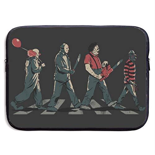 Abbey Road Killer-Freddy Horror Movie Laptop Bags Waterproof Case for Men Women, Fits 13 15 Inch Computer