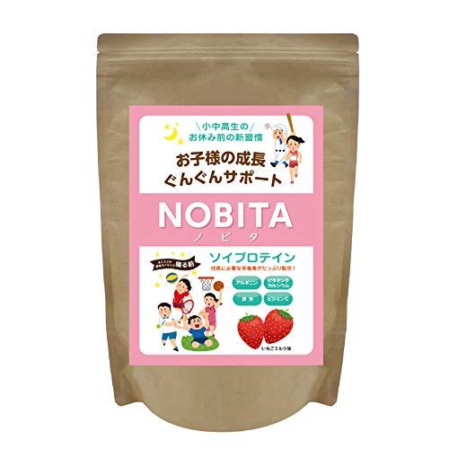 NOBITA(ノビタ) ソイプロテイン FD0002 (いちごミルク味) 600g
