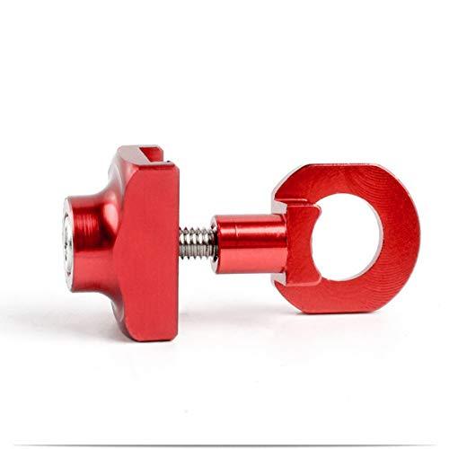 Fgdjfh Faltrad Ultraleicht Aluminium BMX Kettenspanner Verschluss Kettenspanner DIY Modifikation Special - Rot