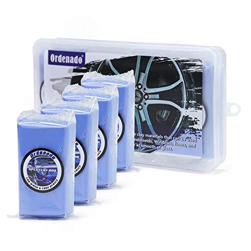Ordenado Car Clay Bar 3 Packs of 100g Each, Auto Detailing Magic Clay Bar Premium Material for Car Wash Car Detailing Clean