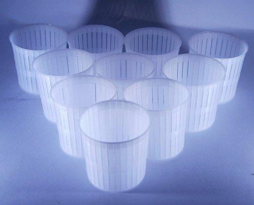 10 x Forma plastica per formaggio 5x5cm - 100g – Ricotta Forme e fuscelle | Forme formaggio