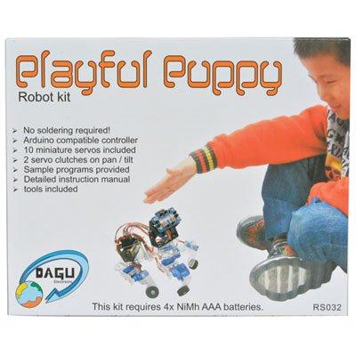''Playful Puppy'' Quadruped Robot Kit