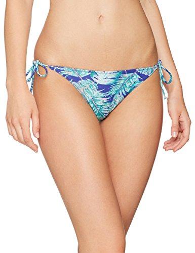 O 'O 'Neill Bikini Triangular Reversible para Mujer.Neill Reversible Tie Side Bottom Bikinis, Mujer, Reversible Tie Side Bottom, Blue AOP with Grün, 36